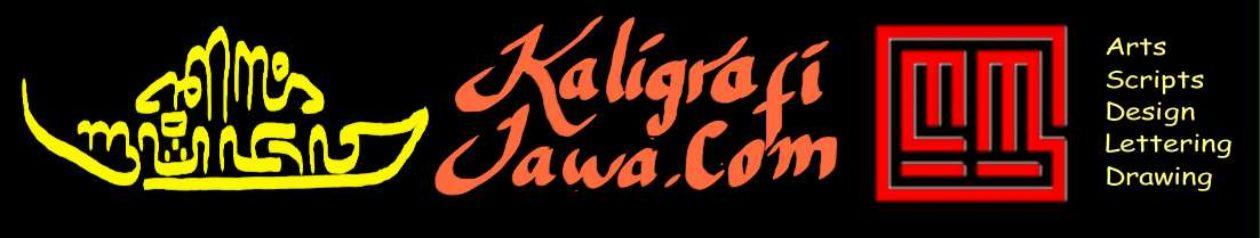 Kaligrafi Aksara Jawa Kontemporer