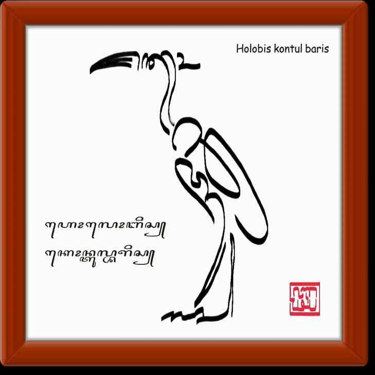 Tulisan Jawa | Kaligrafi Jawa